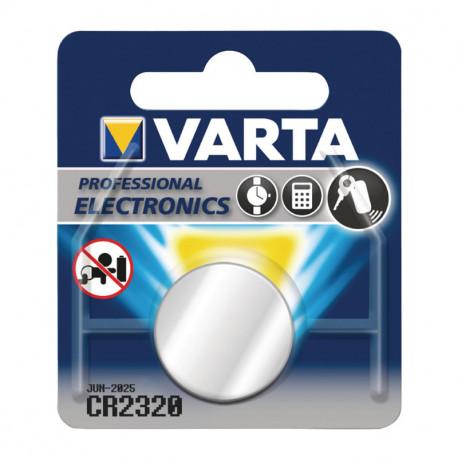 Pile Varta Cr2320 3V Lithium 135Mah