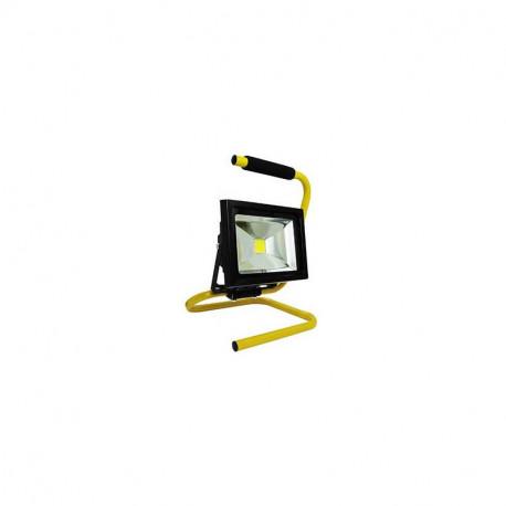 Projecteur de chantier elexity led 50w portable + câble ip65 ce